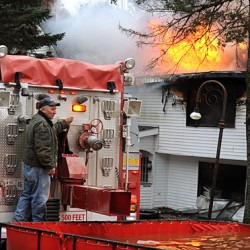 Christmas tree lights suspected in starting Winterport blaze
