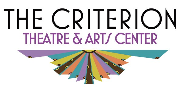 New logo for Criterion Theater in Bar Harbor.  Logo designed By Z Studio of Bar Harbor.