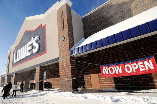 The Lowe's location in Bangor.