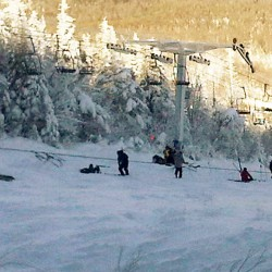 Sugarloaf ski lift that fell is being replaced