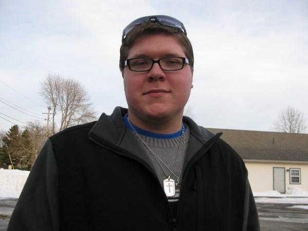 Zach Parker mug (Bangor Daily News / Abigail Curtis)