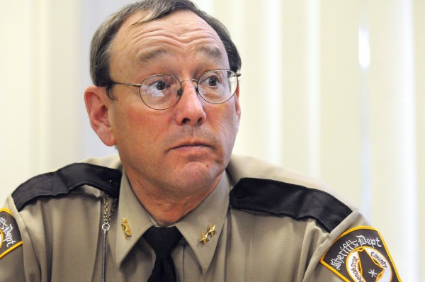 Penobscot County Sheriff Glenn Ross.