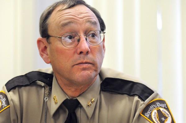 Penobscot County Sheriff Glenn Ross. (Bangor Daily News/Gabor Degre)