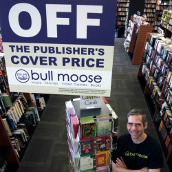 Bull Moose expands Bangor store to include books