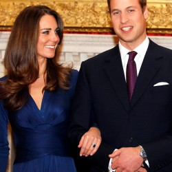 FILE - In this Nov. 16, 2010 file photo, Britain's Prince William and his fiancee Kate Middleton are seen at St. James's Palace in London, after they announced their engagement. London is a sure bet for crowds around the April 29 wedding of Prince William and Kate Middleton.     (AP Photo/Kirsty Wigglesworth, file)