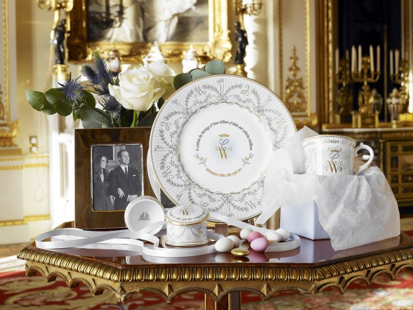 This photograph is issued to end-user media only. Single use only. Photographs must not be archived or sold on. Church's China U.K. Gift Company sells the Royal Wedding Collection to commemorate the future marriage of Britain's Prince William and Catherine Middleton. The fine bone china is the only collection to have been granted official approval by the royal household of Britain. The fine bone china is engraved with initials &quotW,&quot for William, and &quotC,&quot for Catherine. Photos courtesy of Nancy Marshall Communications