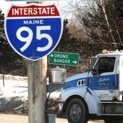 GOP claim of Michaud inattention to truck weight law denied by industry