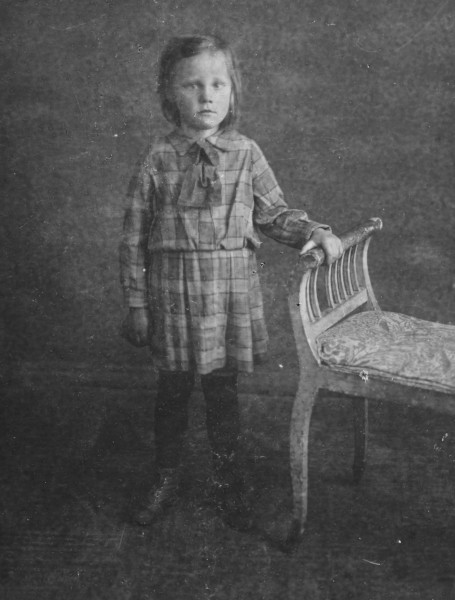 &quotI was very sick in this photo.  My mother stopped to have it taken on the way to the hospital in case I did not live.&quot c. 1939