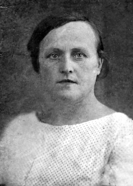 Philomene Keller in a small ID photo