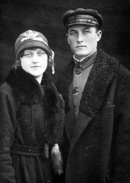 Philomene Keller and her brother Andreas.