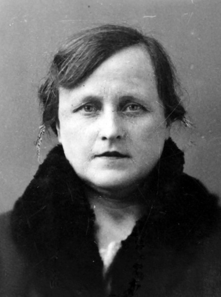 Philomene Keller in a small ID photo.