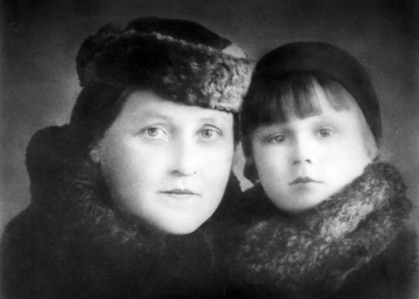 Philomene Keller (left) and her daughter Philomena are seen in a photo from around 1938.