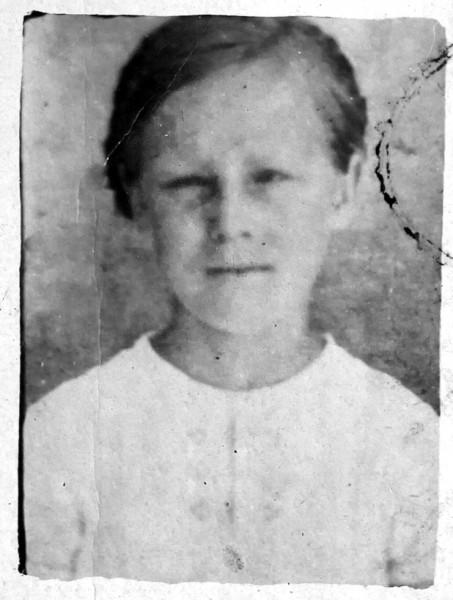 Odessa German &quotpeople's school&quot ID for Philomena Keller.