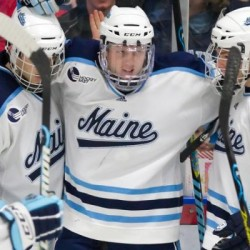 Flynn gives UMaine men's hockey OT win over Providence