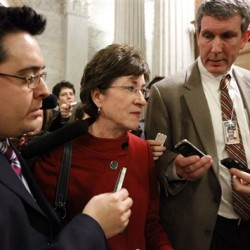 Collins says no, and 'don't ask' stalls in Senate