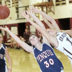 Keezer sets 3-point record, leads Orono girls into first final since '98