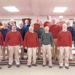 Mainely Music Chorus singing Valentines fundraiser