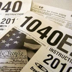 Federal taxes due April 18, despite Patriot's Day