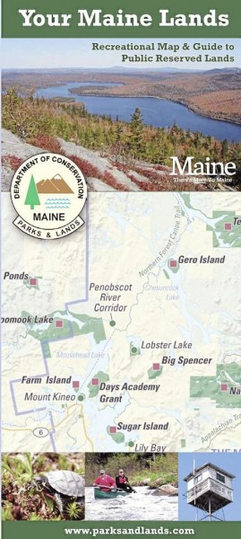 Maine Bureau of Parks and Lands Announces New Public Reserved Lands Map