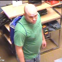 Video image released of man wanted for Best Buy laptop thefts