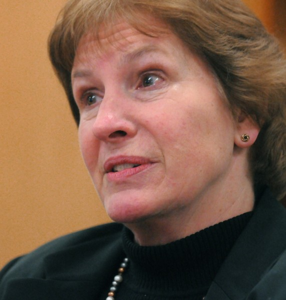 Maine State Prison Deputy Warden Leida Dardis. BDN photo by Gabor Degre