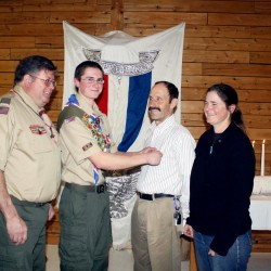 Scouts hone skills at camporee in Frankfort