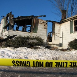 Fire destroys Eastport house