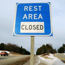 DOT makes cost-cutting changes to rest areas