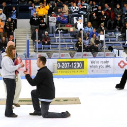 Orono man proposes during Hunter Hayes concert