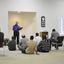 Larger mosque completed, open in Orono