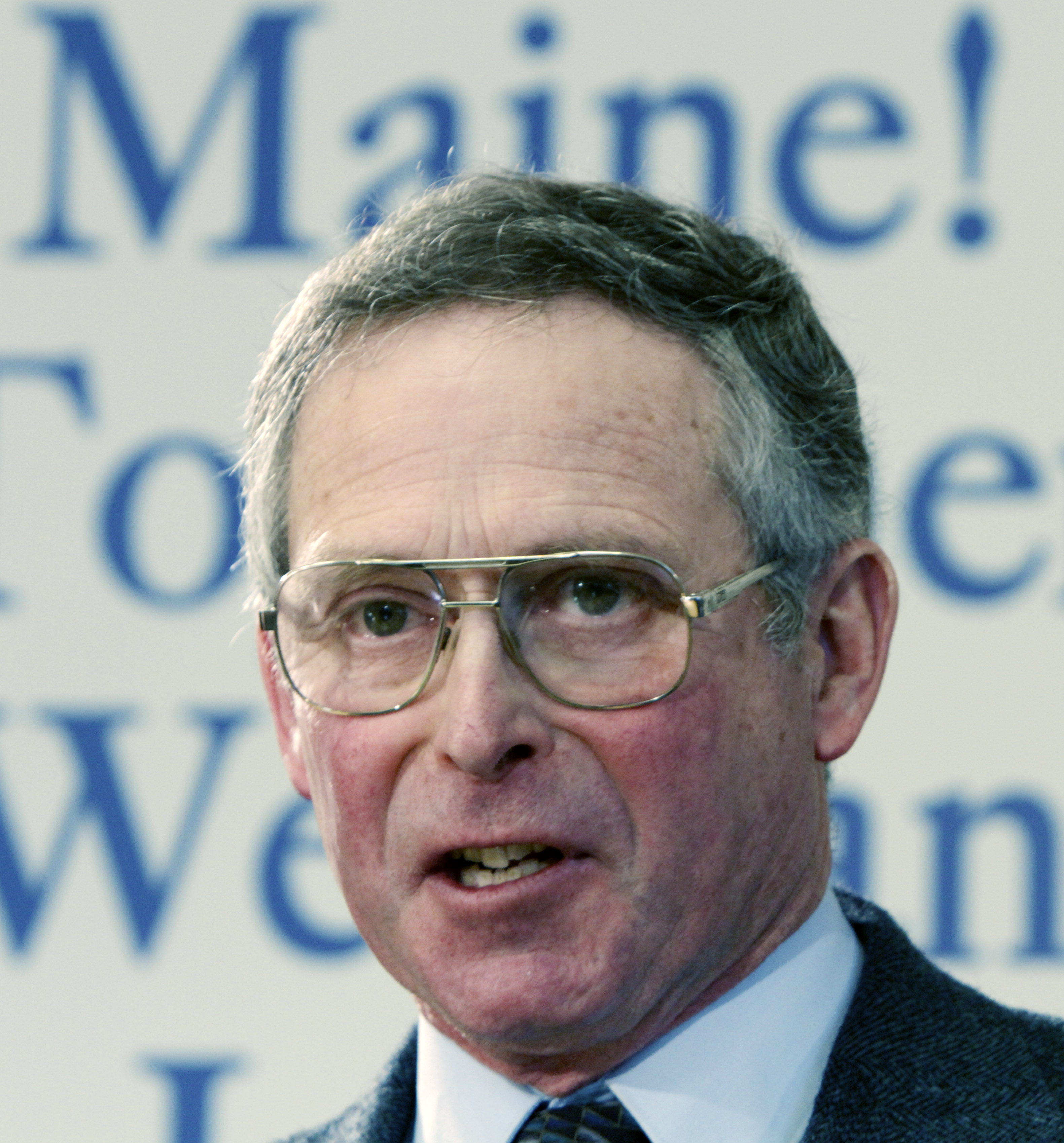 Walter Whitcomb answers questions after being named commissioner of the state Department of Agriculture by Maine Gov. Paul LePage at the State House in Augusta, Maine, on Wednesday, Jan. 19, 2011.