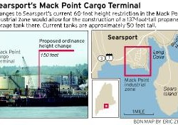 Searsport residents wary of proposed 150-foot oil tank