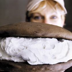 Whoopie pie mountain at UMaine celebrates dessert's first day as state treat