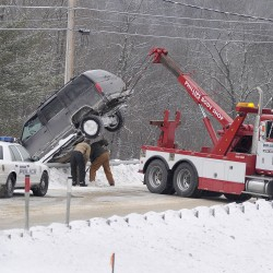 Dozens of crashes on icy southern Maine roads