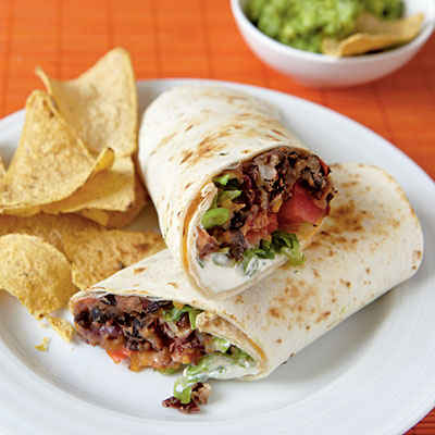 Bean burritos are a delicious and nutritious treat.