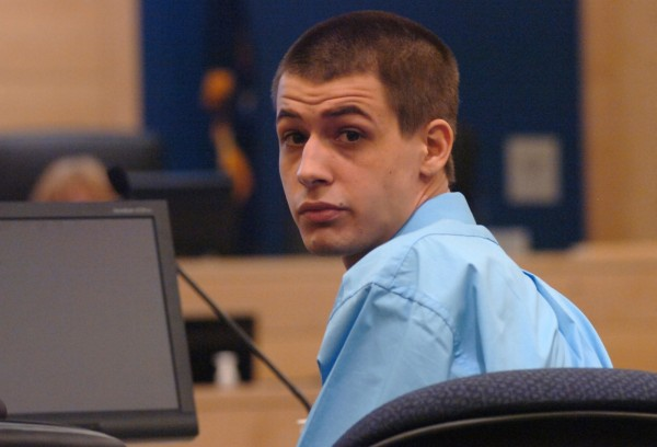 Zachary Carr, who is accused of the January 2010 shooting death of John &quotBobby&quot Surles, sits in the courtroom at the Penobscot Judicial Center in Bangor on Monday, January 31, 2011. Carr's trial was scheduled to begin on Monday, but has been continued until Feb. 28 due to addition evidence received by the defense late last week.