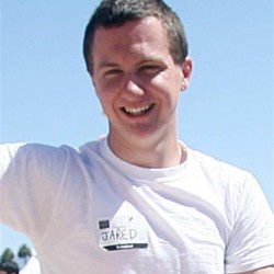This March 2010 photo shows a man identified as Jared L. Loughner at the 2010 Tucson Festival of Books in Tucson, Ariz. The Arizona Daily Star, a festival sponsor, confirmed from their records that the subject's address matches one under investigation by police after a shooting in Tucson that left U.S. Rep. Gabrielle Giffords wounded and at least five others dead. (Mamta Popat|AP Photo/Arizona Daily Star)