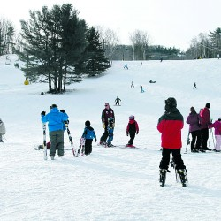 Teaching children with special needs to ski is hard work, but the smiles are worth it