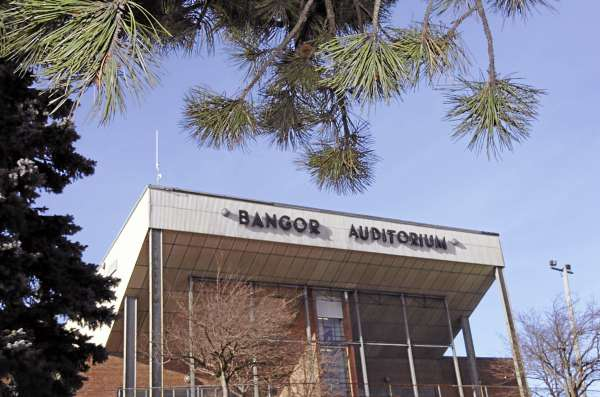 A photo of the Bangor Auditorium taken in February 2010.