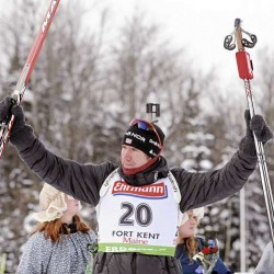 Svendsen nips Fourcade in dramatic men's pursuit; Pippen attends event