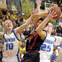 Strong defense propels Jonesport-Beals boys by Easton
