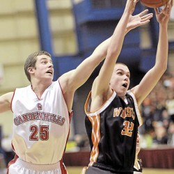 Camden hills uses swarming defense to wear down MDI in Class B match-up