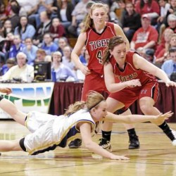 Hotham powers Fort Fairfield's girls to first title