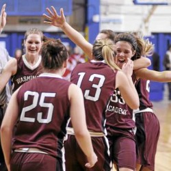 Washington Academy girls add EM title with upset run