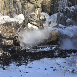 Rockland douses fire at city dump