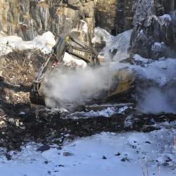 Rockland crew quells landfill fire