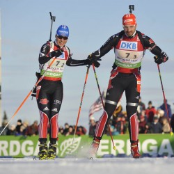 US biathlete Studebaker thrives at 'County home'