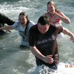 Icy dips in Passamaquoddy Bay net more than $21,000 for Ronald McDonald House