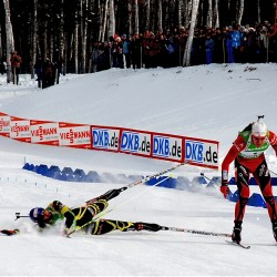 USA's Bailey records a career-best eighth in men's mass start at Cup biathlon