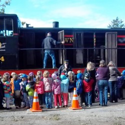 Experience Ellsworth and Hancock aboard the Downeast Scenic Railroad